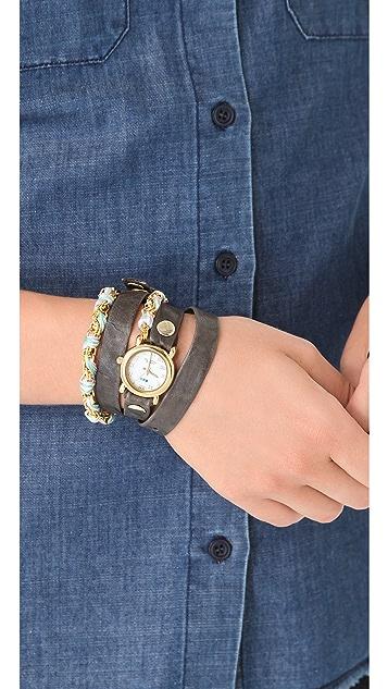 La Mer Collections Friendship Bracelet Watch