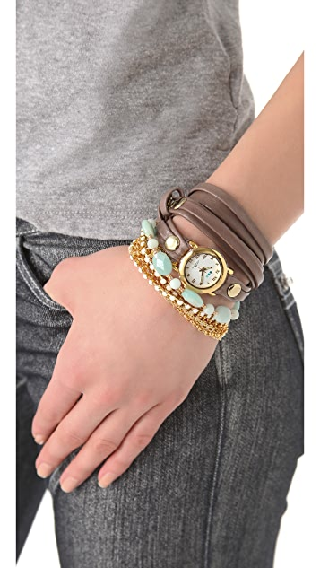 La Mer Collections Venetian Stones Wrap Watch