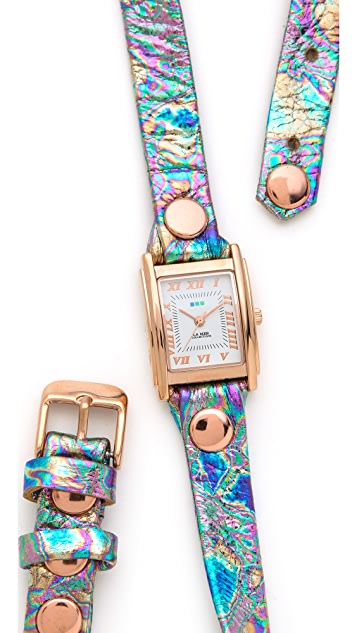 La Mer Collections Oil Spill Wrap Watch