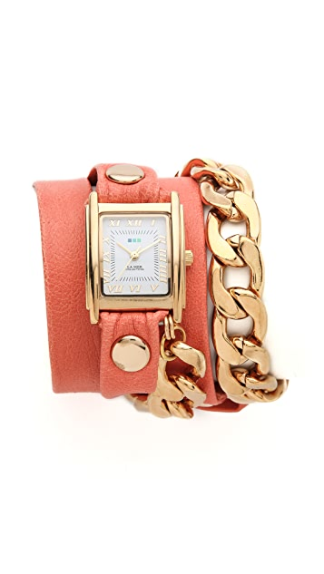 La Mer Collections Malibu Wrap Watch