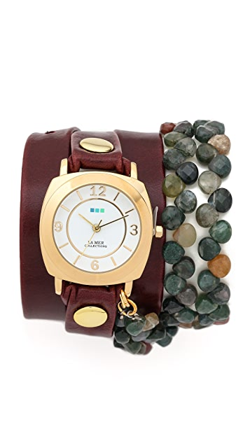 La Mer Collections Tesoro Wrap Watch