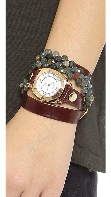 La Mer Collections Tesoro Wrap Watch