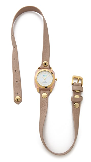 La Mer Collections Rose Wrap Watch