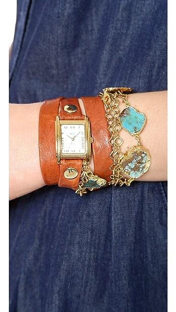 La Mer Collections Durango Wrap Watch