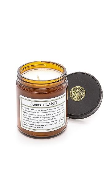 Land by Land Oak Candle