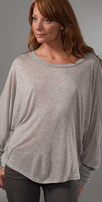 Lanston Dolman Long Sleeve Top