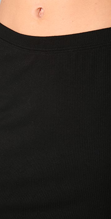 Lanston Ribbed Pencil Skirt