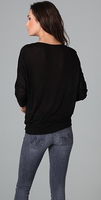 Lanston Double Drape Top