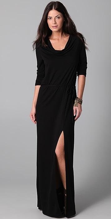 Lanston Drape Maxi Dress