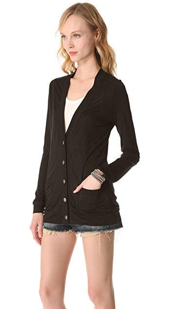 Lanston Button Front Cardigan