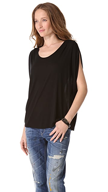 Lanston Oversized Draped Tee