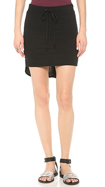 Lanston Shirttail Miniskirt
