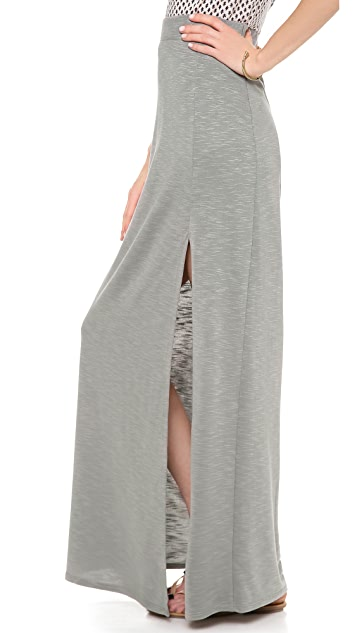 Lanston Maxi Skirt with Slit