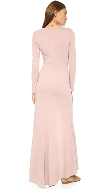 Lanston Long Sleeve Maxi Dress