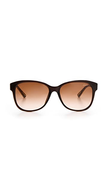Lanvin Rounded Square Sunglasses