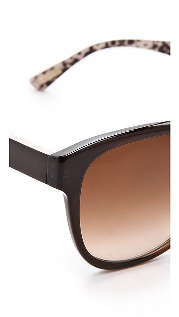 Lanvin Rounded Square Sunglasses