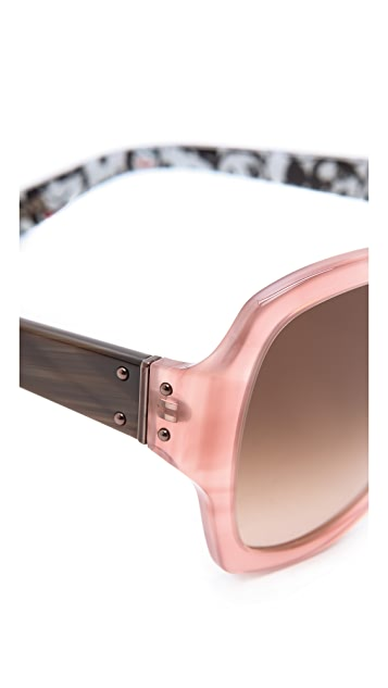 Lanvin Butterfly Cartoon Sunglasses