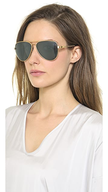 Lanvin Polarized Aviator Sunglasses