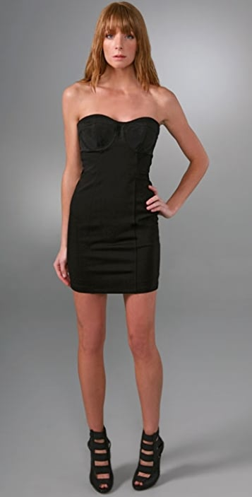 LaROK LUXE Coquette Corset Top Dress