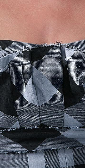 LaROK LUXE Ice Breaker Plaid Dress