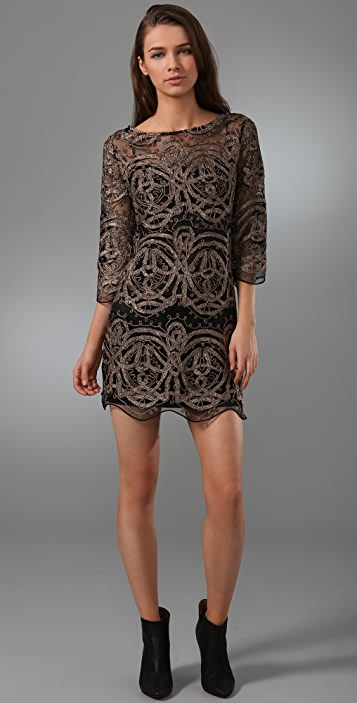 LaROK LUXE Lace Mace Dress