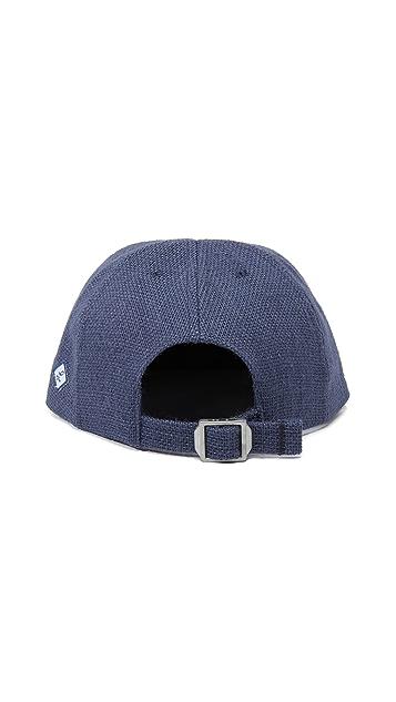 Larose Burlap Baseball Cap