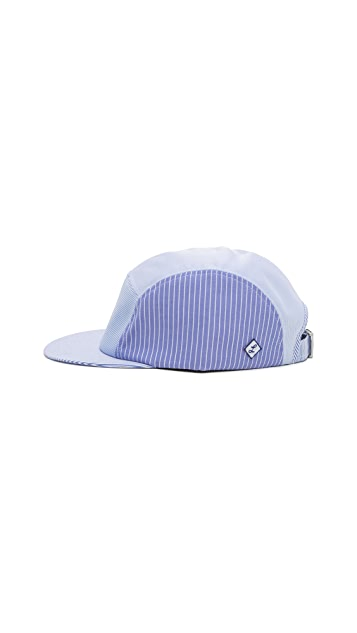 Larose Shirting Stripe 5 Panel Cap