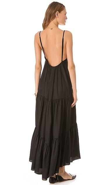LA't by L'AGENCE Spaghetti Strap Maxi Dress