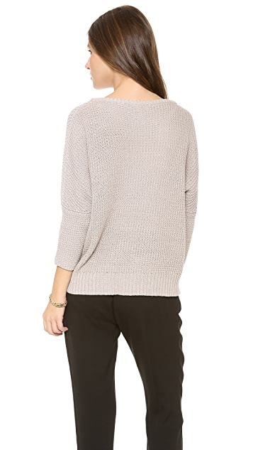 LA't by L'AGENCE Oversized Pullover Sweater