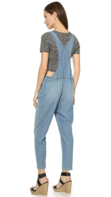 LA't by L'AGENCE Relaxed Overalls