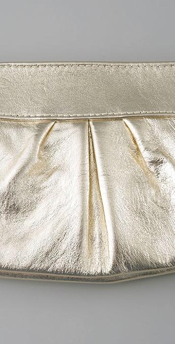 Lauren Merkin Handbags Eve Metallic Clutch