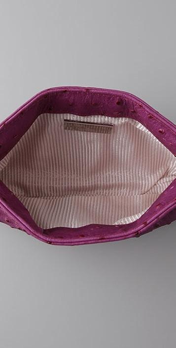 Lauren Merkin Handbags Eve Ostrich Clutch