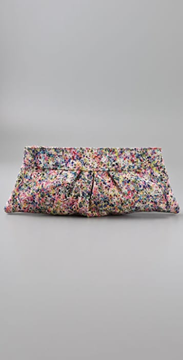 Lauren Merkin Handbags Eve Splatter Print Clutch
