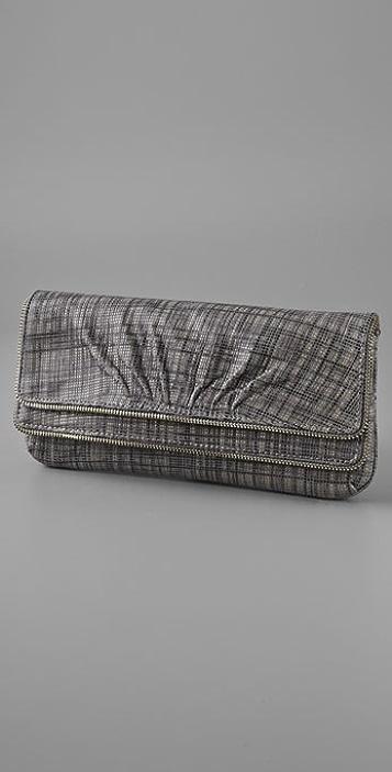 Lauren Merkin Handbags Allie Plaid Clutch