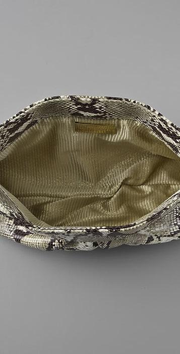 Lauren Merkin Handbags Louise Python Clutch