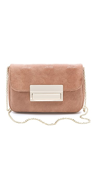 Lauren Merkin Handbags Iris Polished Lizard Bag
