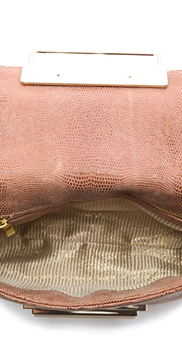 Lauren Merkin Handbags Iris Polished Lizard Bag
