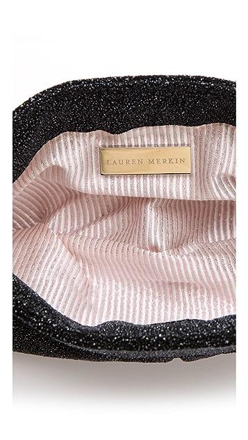 Lauren Merkin Handbags Eve Glass Encrusted Clutch