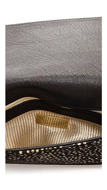 Lauren Merkin Handbags Parker Bag with Metallic Polka Dots