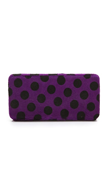 Lauren Merkin Handbags Grace Haircalf Minaudiere