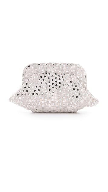 Lauren Merkin Handbags Lucy Polka Dot Clutch