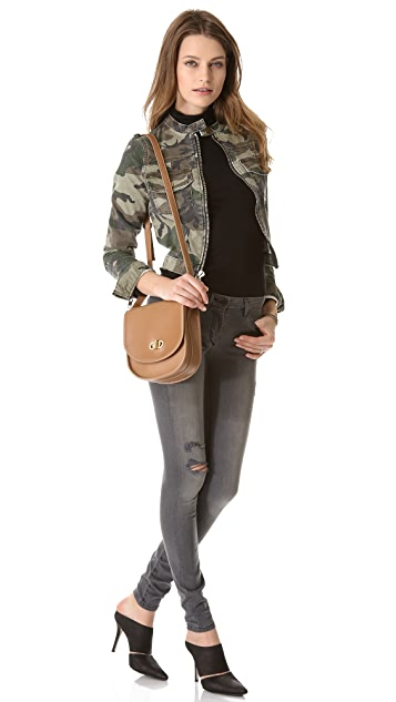 Lauren Merkin Handbags Stevie Saddle Bag
