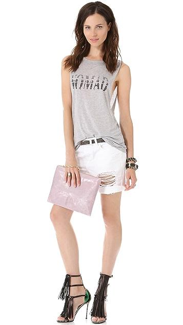 Lauren Merkin Handbags Winnie Studded Clutch