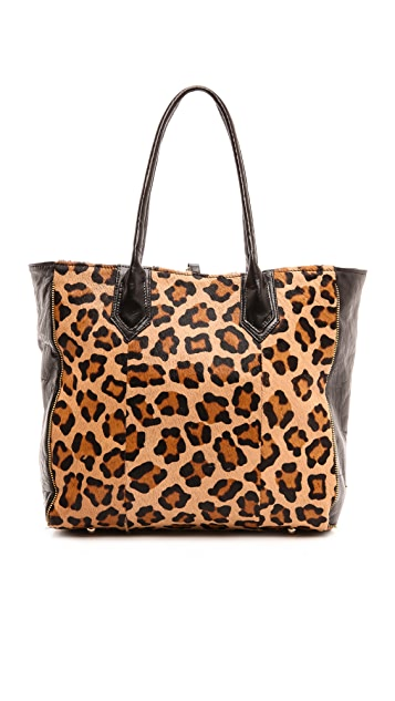 Lauren Merkin Handbags Reese Tote with Haircalf