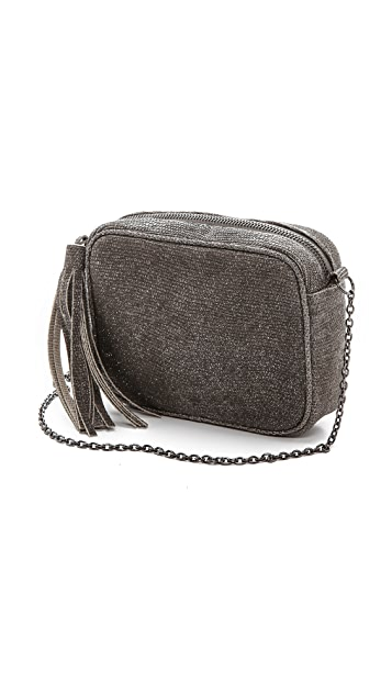 Lauren Merkin Handbags Glitter Meg Cross Body Bag