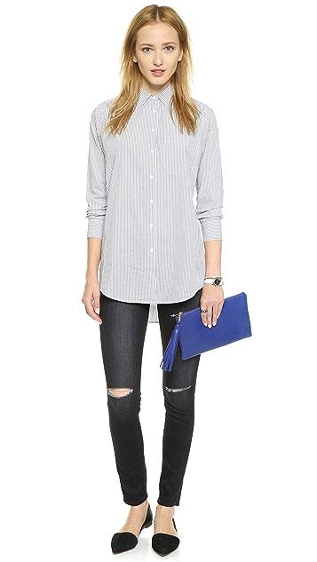 Lauren Merkin Handbags Small Tassel Pouch