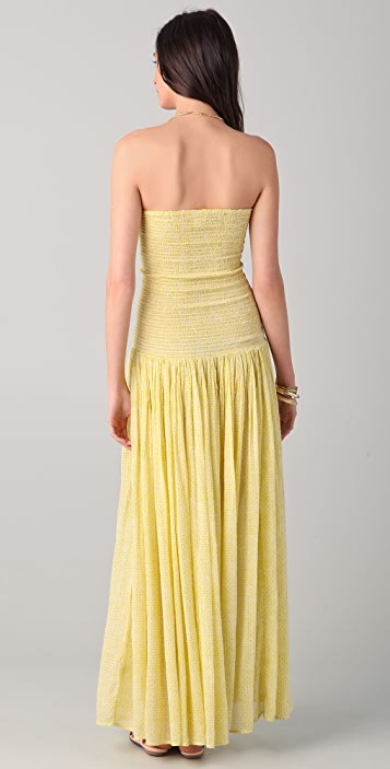 Laurence Dolige Tubas Strapless Maxi Dress