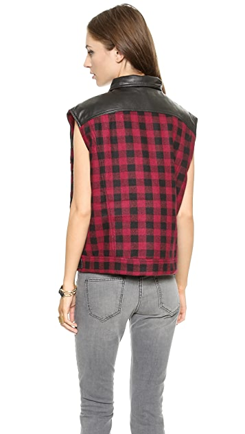 Laurence Dolige Fox Vest