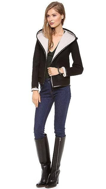 LAVEER Reversible Hooded Jacket