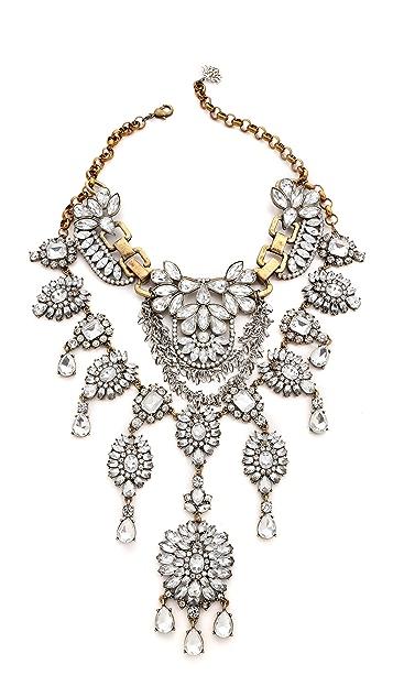 Laura Cantu Vintage Extra Large Rhinestone Necklace